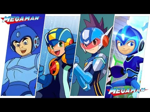 Mega Man (Rock Man) Evolution in Cartoons (2018)