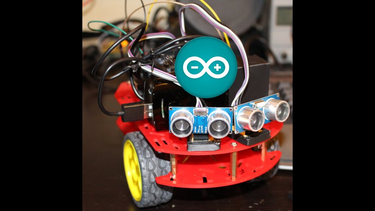 Tutorial in how to use arduino for obstacle avoiding robot