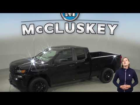 191879 - New, 2019, Chevrolet Silverado, 1500, Custom, Double Cab, Test Drive, Review, For Sale -