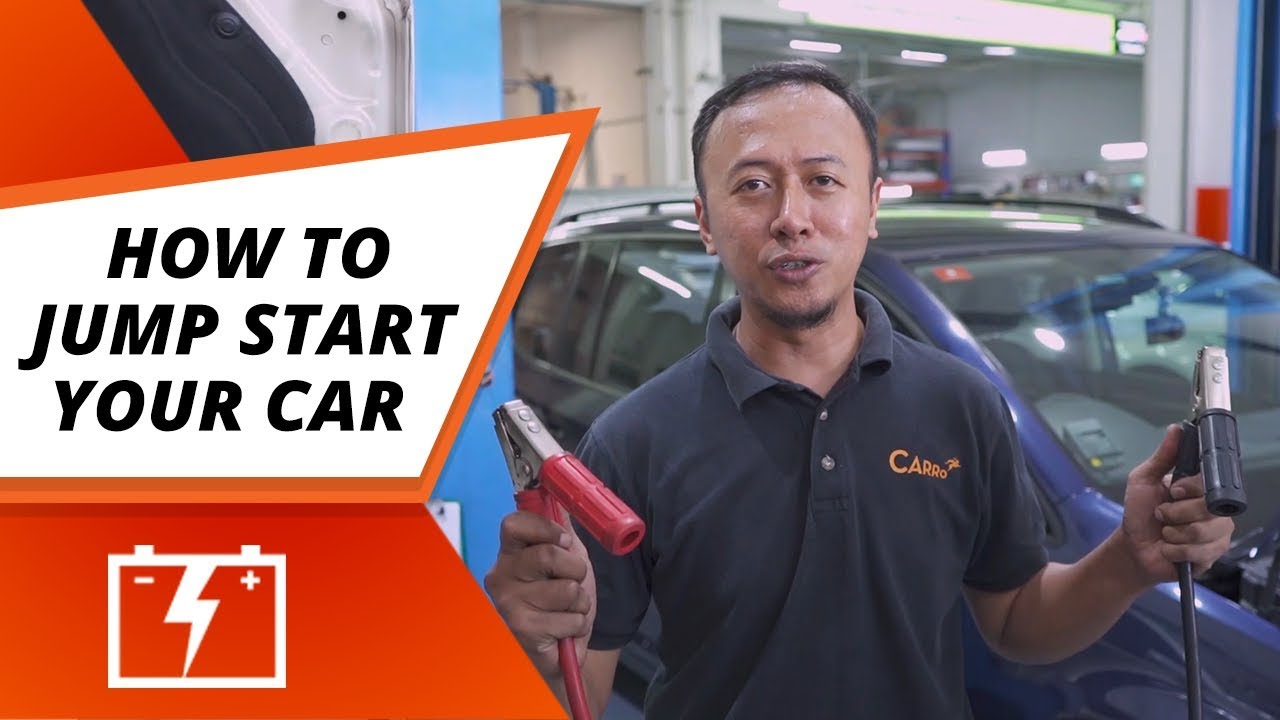 How To Jump Start Your Car Drivers Tips Hacks Carro Singapore Youtube
