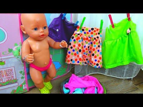Кукла Беби Бон Макс НАКАЗАН! Выгнали Беби Бона из дома. Куклы СВОИМИ РУКАМИ строят Домик для кукол