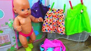 Куклы Беби Бон. Куклы СВОИМИ РУКАМИ строят Домик для кукол