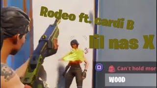 Fortnite montage Lil Nas X rodeo Ft. Cardi B