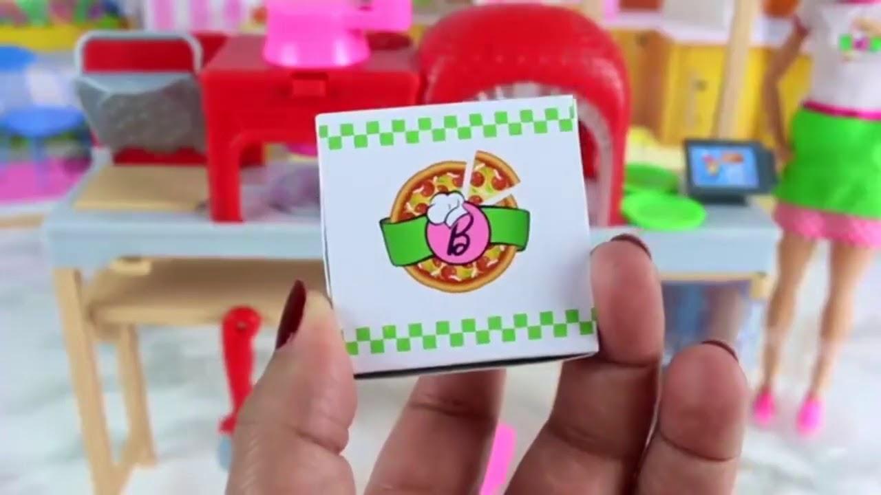 Berbie Masak Pizza مطبخ باربي للبيتزا Barbie Cooking Pizza Youtube