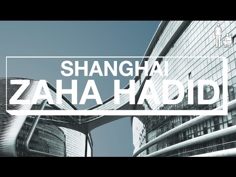 ZAHA HADID's SKY SOHO IN SHANGHAI, CHINA