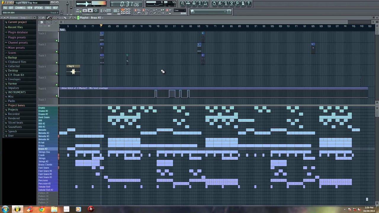 *RE-UPLOAD* FL Studio 11 - Hard Trap Beat 2015 (Prod  By E Y  Beats)