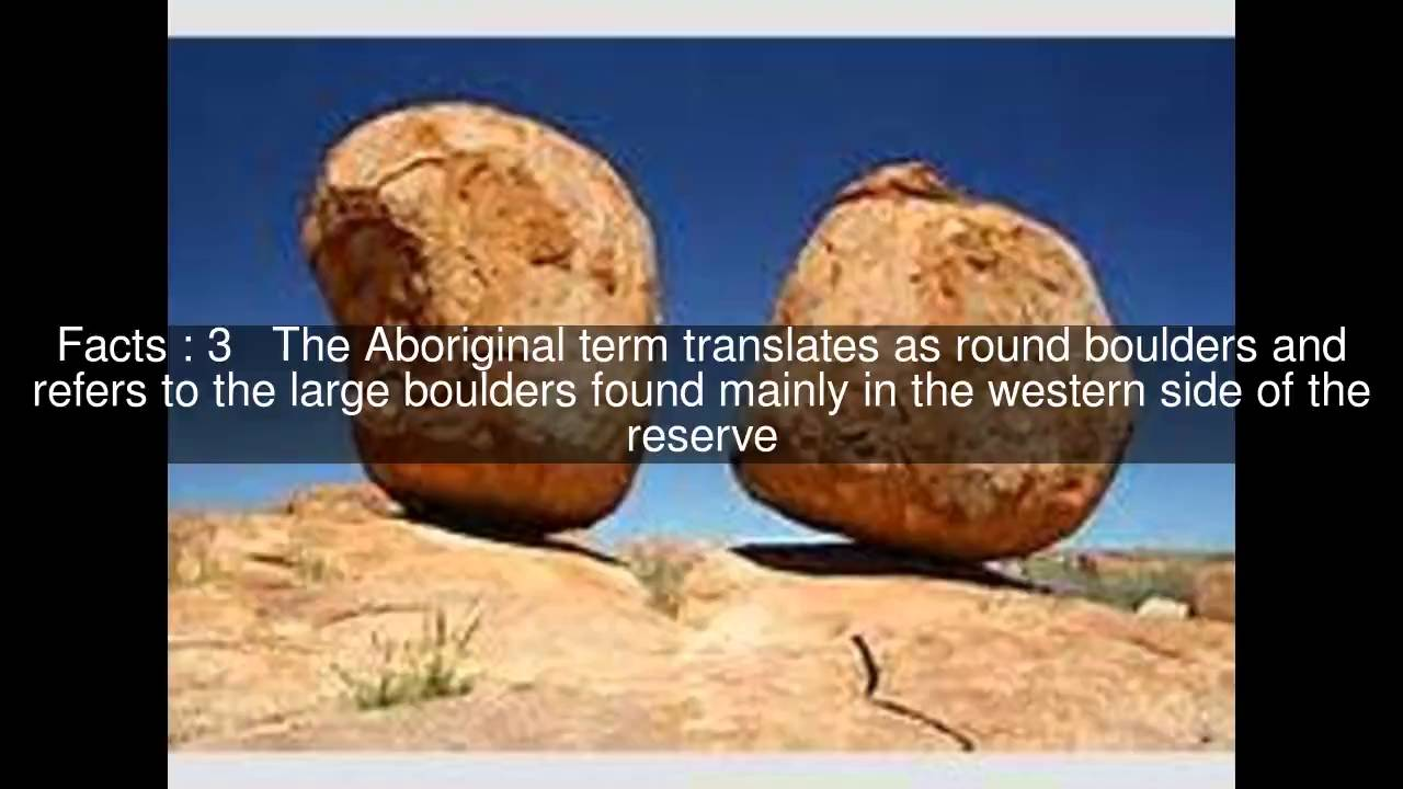 Karlu Karlu Devils Marbles Conservation Reserve Top 8 Facts Youtube