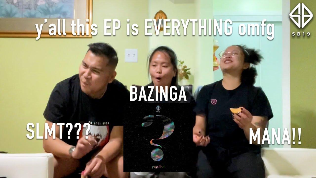 "Reacting to SB19's new EP ""Pagsibol"" (FINALLY!!!)"
