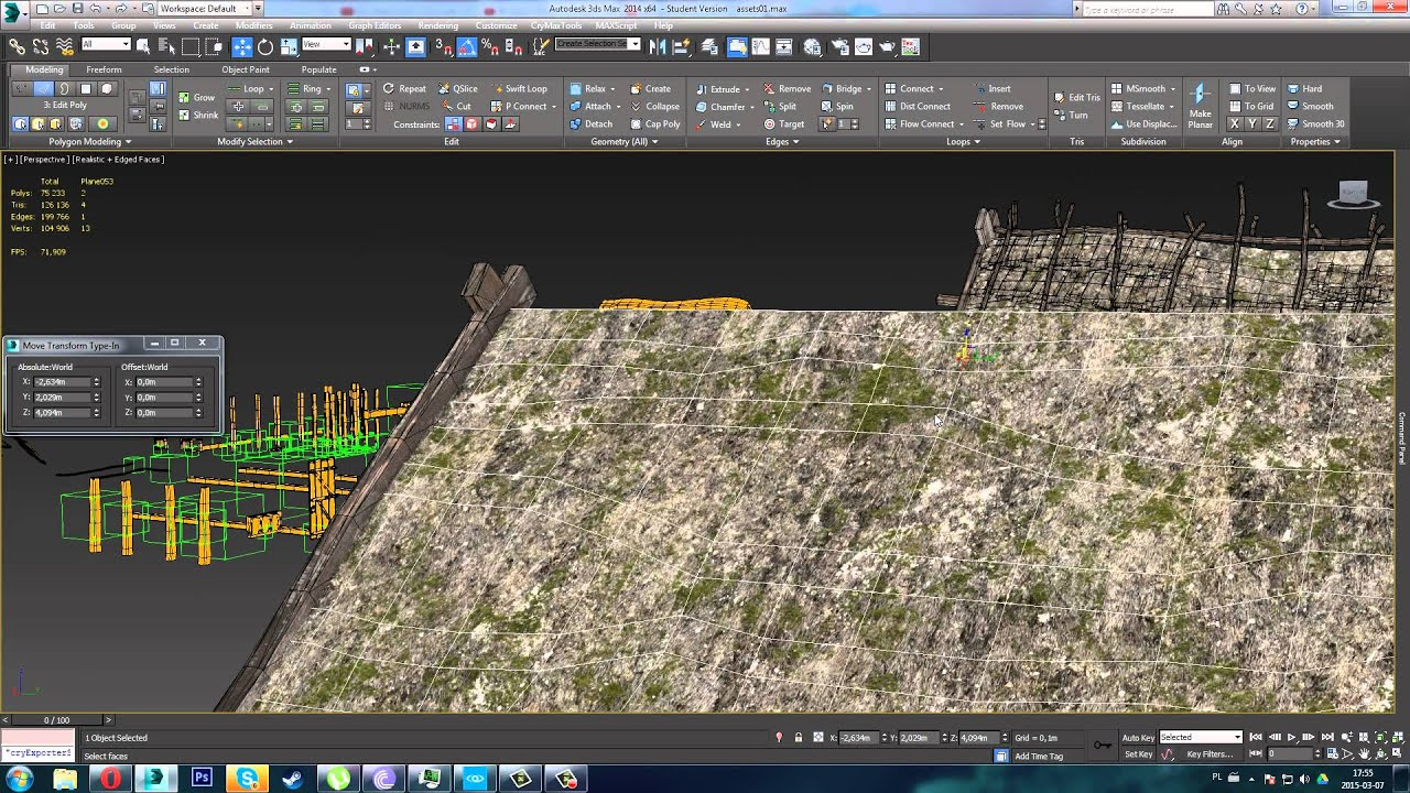 Modeling Thatched Roof In 3d Max Youtube