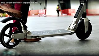 best electric scooter in singapore of asia