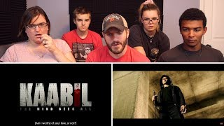 Kaabil | Official Trailer REACTION! | Hrithik Roshan | Yami Gautam