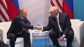 """Trump dementiert: """"Fake News Story über geheimes Dinner mit Putin ist krank"""""""