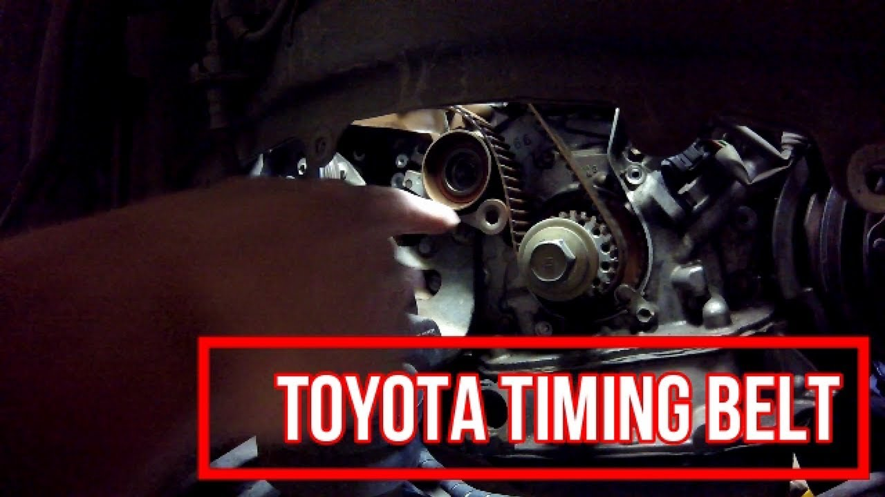 how to replace toyota lexus v6 timing belt part 1 [ 1280 x 720 Pixel ]