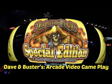 Deadstorm Pirates Special Edition Arcade Game 2 Player Closed Booth Style First Person Shooter Game