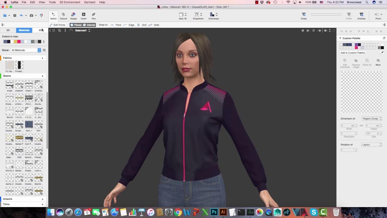 Working With Modo Browzwear Open Platform Youtube