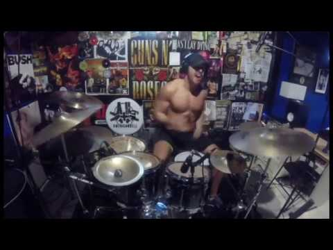 "Godsmack - ""Bulletproof"" Drum Cover"