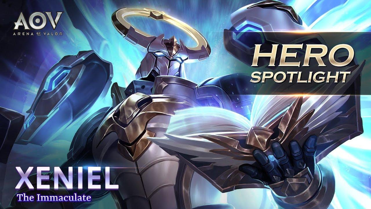 Xeniel Hero Spotlight Garena Aov Arena Of Valor