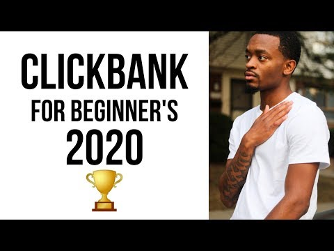 Clickbank For Beginner's 2020: FASTEST Way To Make Money On Clickbank 🏆