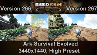 ARK Survival Evolved Full Release Update Version 267 vs 266 Performance | GTX 1080Ti