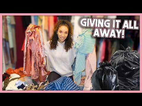 MASSIVE Closet Clean-Out! Organizing My Entire Wardrobe!