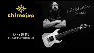 Скачать Chimaira Army Of Me Guitar Cover By Christopher Gomez