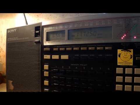04 10 2016 Radio New Zealand International in English to Pacific 0655 on 11725 Rangitaiki