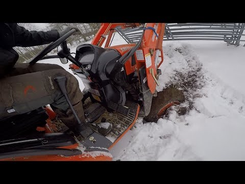 Reaching The Limits Of This Kioti CK22 Compact Tractor