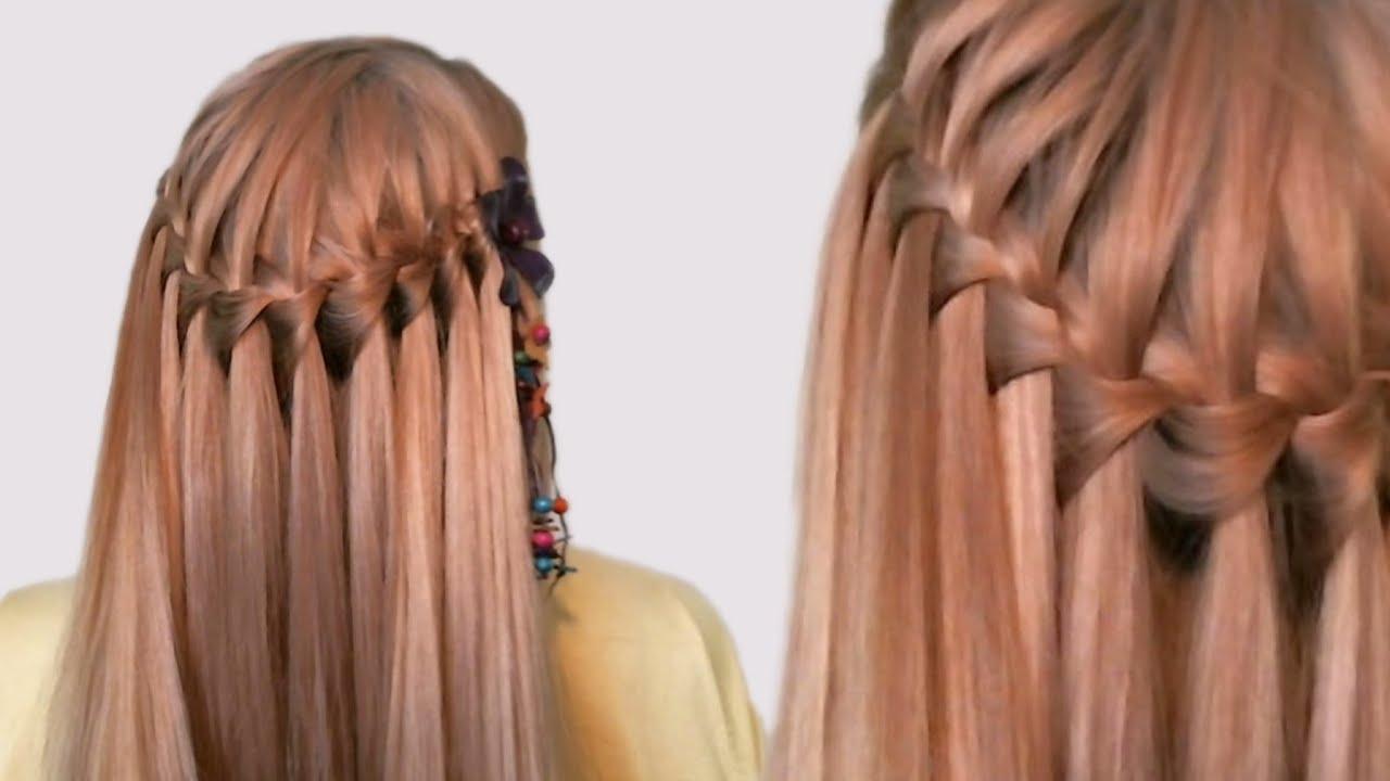 Водопад волосы