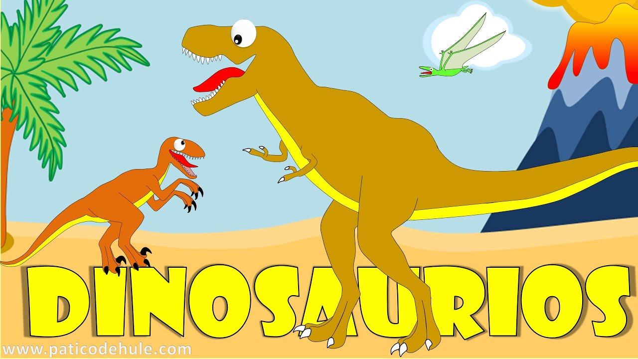 Dinosaurios Para Niños Sonidos Y Nombres De Dinosaurios Youtube