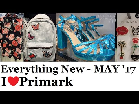 Everything new at Primark - May 2017 | I❤Primark