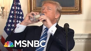 After Mocking Rubio, President Donald Trump Has A Water Bottle Moment   The 11th Hour   MSNBC