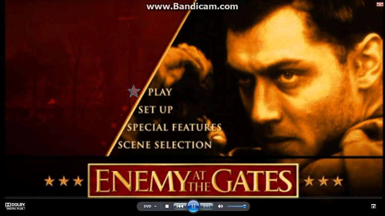 enemy at the gates Enemy at the gates is a war film from jean-jacques annaud from 2001 that takes place during the battle of stalingard in world war ii between the russians and the .