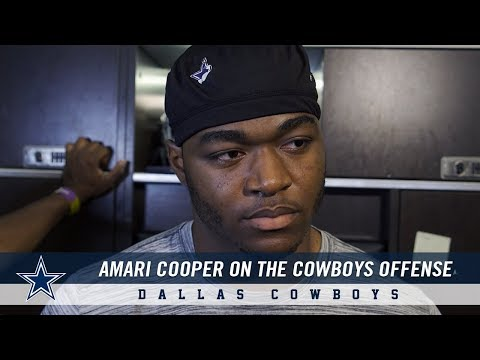 Amari Cooper on Dallas Cowboys new offense: Same plays but disguised