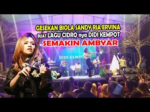 Download Gesekan Biola Sandy Ria Ervina Buat Lagu Cidronya Didi