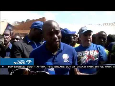 DA marched to the Limpopo Treasury offices