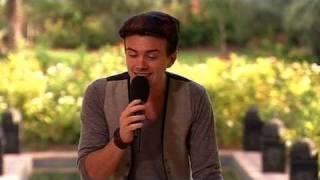 The X Factor 2009 - Rikki Loney - Judges' houses 1 (itv.com/xfactor)