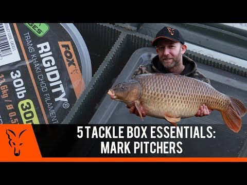 ***CARP FISHING TV***  5 Tackle Box Essentials: Mark Pitchers