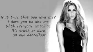 Shakira - Dare (La La La) Letra