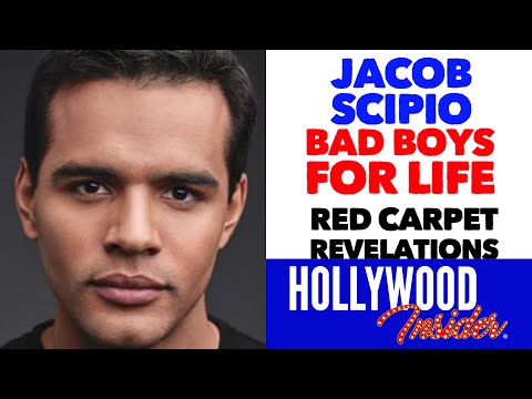 'bad-boys-for-life'---'red-carpet-revelations'-with-jacob-scipio-during-red-carpet-premiere