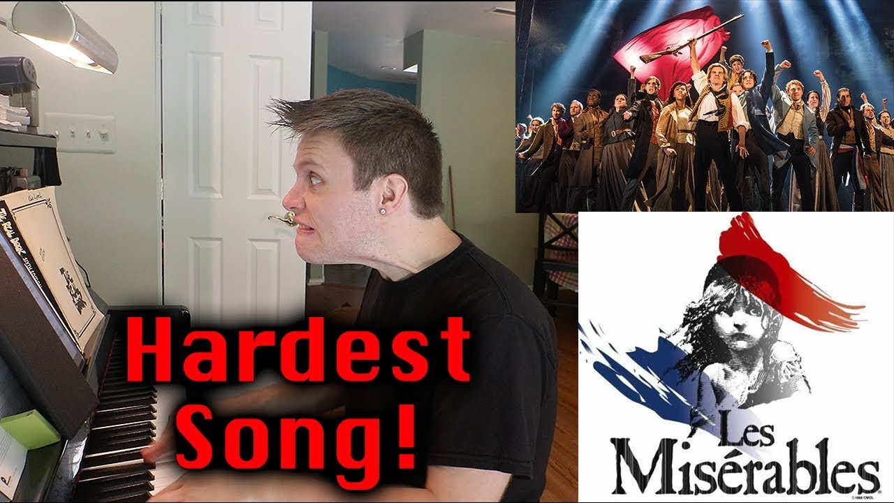 Hardest Song To Perform From Les Miserables Youtube