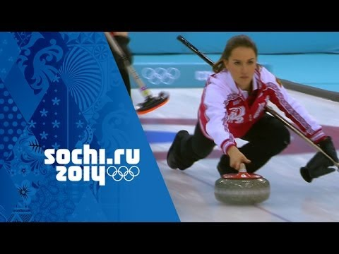 Women's Curling - Round Robin - Russia v USA | Sochi 2014 Winter Olympics