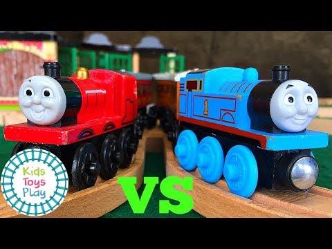 Thomas and Friends Full Episodes Reds VS Blues   Thomas the Train Season 19