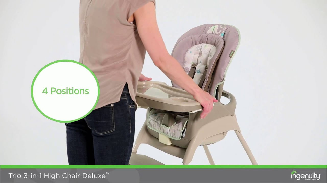 3 In 1 High Chair Using Your Ingenuity Trio 3 In 1 Deluxe High Chair In