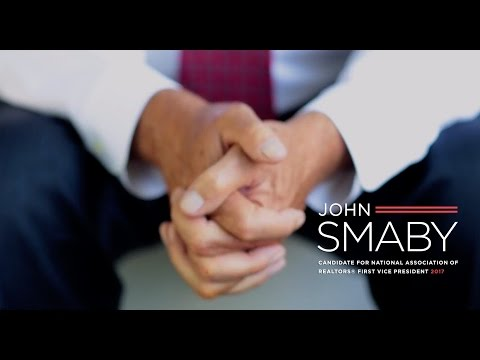 John Smaby: Candidate for National Association of REALTORS® First Vice President 2017