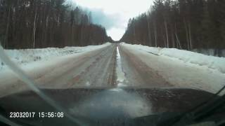 Дорога Котлас-Яренск 2