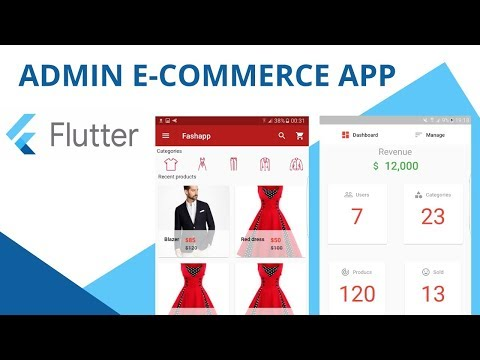 ecomerce app using flutter