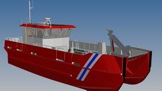 3MT Engineering AS - aluminium catamaran workboat