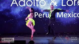 Adolfo Indacochea & Lorena Andrade - Show   The Original Latin Dance Congress 2019 (Bangkok)