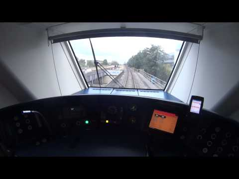 Real Train Driver's View SLT Abcoude - Bijlmer - Amsterdam 2014