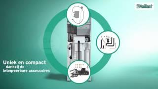 Condensatieketel met ingebouwde boiler: ecoCOMPACT